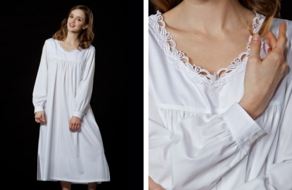 Celestine-Bianca-long-sleeve-flannel-nightgown-Bianca-NH-white